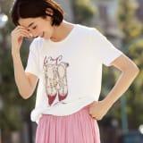 NEURONE/ネウローネ シューズ柄Tシャツ(イタリア製) 写真
