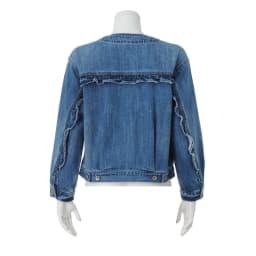 Moname/モナーム フリルデザインデニムジャケット