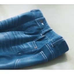gram blue/グラムブルー 再生ポリエステル デニムスキニーパンツ