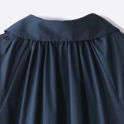 La Camicia/ラ カミーチャ 丸襟ブラウス(イタリア製) Back Style