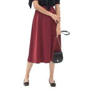 リバーシブル ボンディングフレアスカート 写真