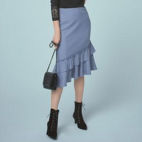 ティアードデザイン マーメードスカート 写真