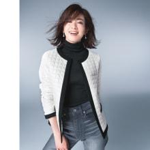 マリア・ケント社 カラフルツイード ジャケット