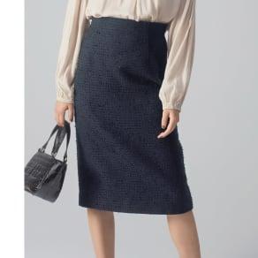 別注ツイードシリーズ セミタイトスカート 写真