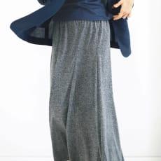 リネン混 ジャージースカート