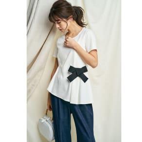 オーガニックコットンデザインTシャツ 写真