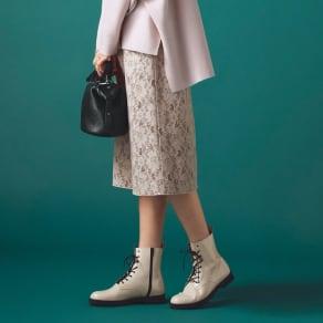 ボンデイングレース リバーシブル スカート 写真