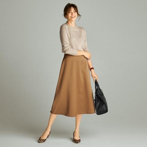 リバーシブルボンディング フレアスカート 画像