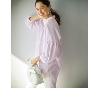 機能素材 シグマティ(R) バックコクーンシャツ 写真
