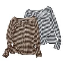 柄編みジャカード ニットチュニック