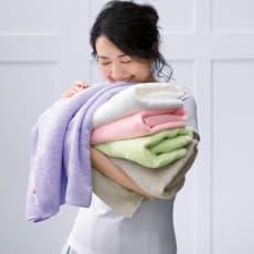 洗うほどやわらかくなるタオル フェイスタオル 色が選べる4枚組