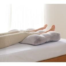 がんばる脚に休息のひとときを もちもち脚まくら 専用ふんわりカバー付き