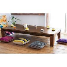 【2長方形・小】105×75cm モダンリビング こたつテーブル