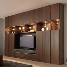 コレクションが輝く飾る壁面収納 扉付き収納庫タイプ 幅39cm