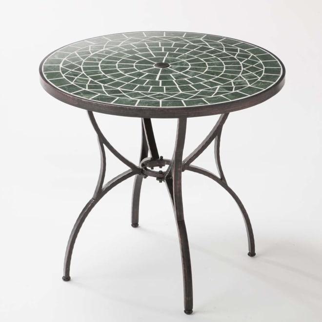 グリーンモザイクテーブル 小テーブル お届けは小テーブル単品です。
