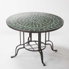 グリーンモザイクテーブル 大テーブル