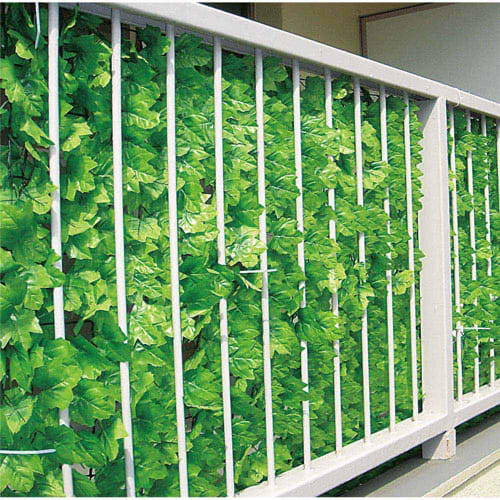 ベランダガーデニングに人気の目隠しグリーンフェンス