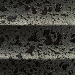 信楽焼 傘立て 黒 ウズラ柄が美しい、さりげない表情のある焼き物です。