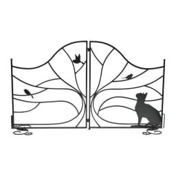 シルエットフェンスゲート (ア)キャット