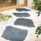 カナダ製石風ラバーステップ 4枚組 写真