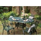 グラシュII ガーデンテーブル&チェア オーバル5点セット 写真