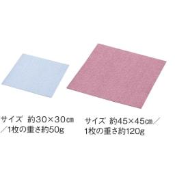 カテキン消臭置くだけタイルマット 約30×60cm 同色10枚組 左から(キ)ブルー (カ)ローズピンク