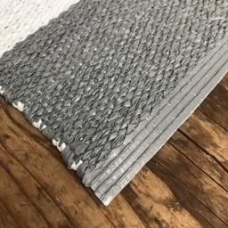 汚れが拭き取れるリバーシブルマット 56×45cm やわらかい素材です。