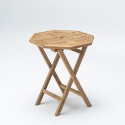 チーク八角テーブル