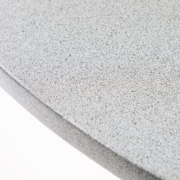 モダングレーテーブル60 天板は石のように見える素材感。