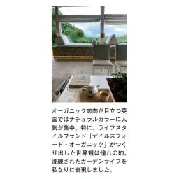 アンティーク風テーブル 大 植物を邪魔しないオーガニックカラーが英国で人気