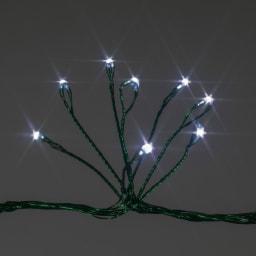 植栽になじむ!屋内外で使えるLEDクラスターライト ホワイト
