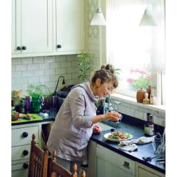 ハーブ用菜園プランター ベジトラグ 薄型(4コマ) ベジトラグならでは 摘みたてを味わう!おすすめレシピ 収獲したてのフレッシュな野菜&ハーブの味わいが生きる、吉谷さんおすすめのレシピを教えていただきました。