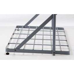 プランター台付きワイドトレリス 幅89cm パーゴラ付き プランター台座部分。鉢やプランターを置くことができます。