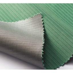 遮熱サンシェード ストライプ 180×90cm メッシュ生地の裏地にステンレスコーティング。暑さの原因となる赤外線に加えて、家具や畳の日焼けの元となる紫外線(UV)も効果的にカットします。