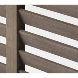 【逆ルーバー】人工木室外機カバー 大型対応 熱風を上に吹き出す 逆ルーバー仕様