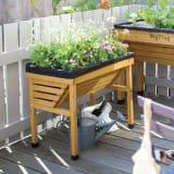 菜園プランター ベジトラグ バルコニーサイズ 写真