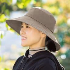 UVカットつば広ハット&虫対策アームカバー