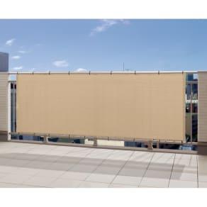 サマーオーニングバルコニータープ 100×360cm 写真