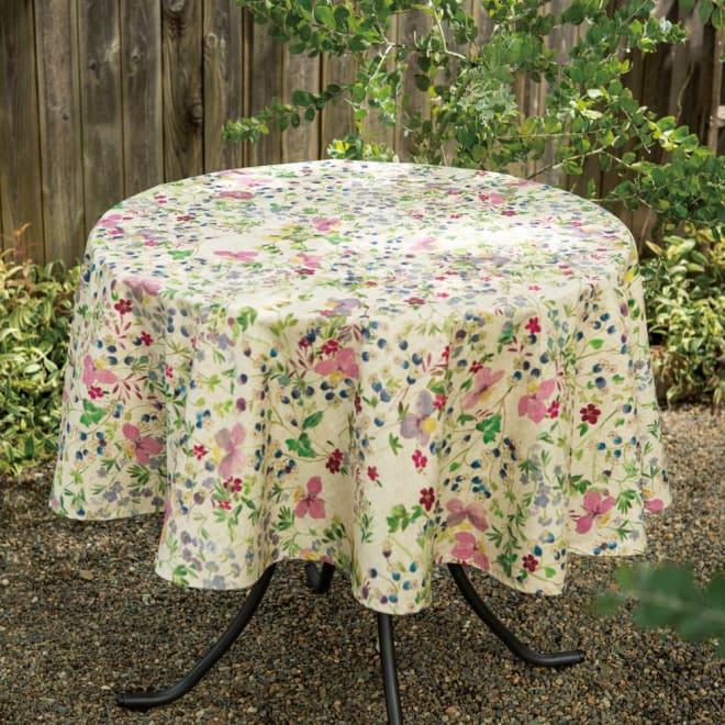 スペイン製テーブルクロス 花柄