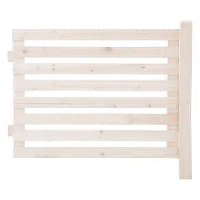 木製ボーダーフェンス フェンス延長用 写真
