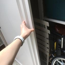 引き戸物置 吉谷さんコラボカラー・グレージュ 薄型ハイ ※画像はサイズが異なります
