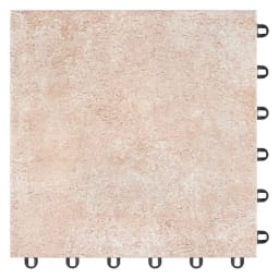 TOTO汚れにくいベランダマット お得な同色20枚組 (ア)ベイクベージュ ヴィンテージ感のある温かなカラーと風合いは、1枚1枚が異なる色合いを持ち、深みのある空間を演出します。