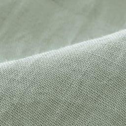 吉谷桂子先生デザイン 麻のスモック やや粗目に織られた風通しのよいリネン生地。