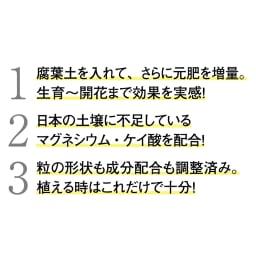 ディノスオリジナル培養土 バイオゴールド×吉谷桂子×dinos バイオゴールドローズソイル15L 【ここがすごい!】