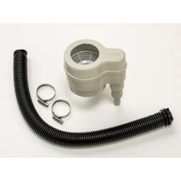 英国Strata社製雨水貯水タンク 容量100L 取付用パーツはすべて付属しています。
