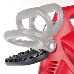 ブロワーバキューム 取っ手は作業しやすい角度に調節できます。