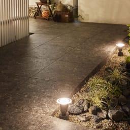 ひかりノベーション 追加ライト (ウ)地の光点灯時