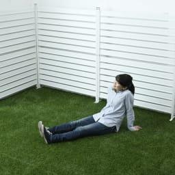 防草シート付きロール芝