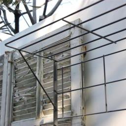プランター台付きワイドトレリス 幅89cm パーゴラ付き ブルーベリーなど生育旺盛な植物を絡ませても。