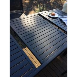 伸長式アルミテーブル